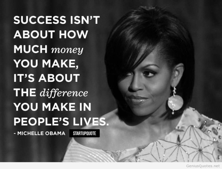 Inspire-and-successfull-quote-with-Michelle-Obama