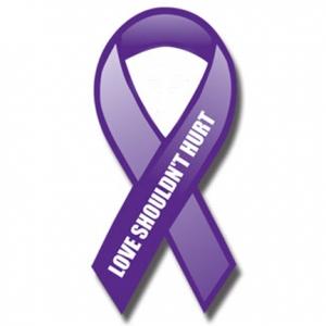 domestic_violence_car_magnet_ribbon_0